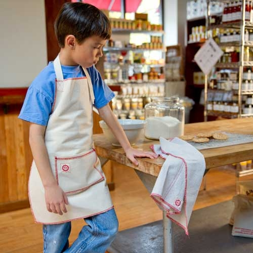Child's Apron Red