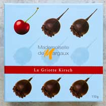 Chocolate Covered Cherries with Kirsch - Madam' de Margaux