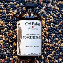 Col Pabst Malt Amber-Lager Worcestershire Sauce