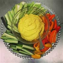 Pam's Curried Hummus Recipe