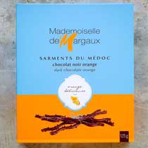 Dark Chocolate Twigs with Orange - Mademoiselle de Margaux