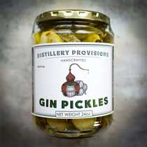 Distillery Provisions Gin Pickles