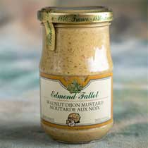 Fallot Walnut Dijon Mustard - small jar