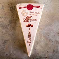 Flamigni Soft Hazelnut Torrone Wedge