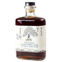 Haku Iwashi Whiskey Barrel Aged Fish Sauce
