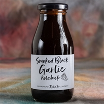 Hawkshead Smoked Black Garlic Ketchup