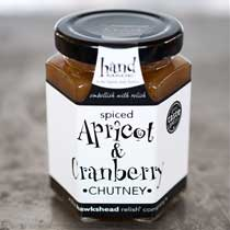 Hawkshead Spiced Apricot and Cranberry Chutney