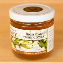 High Plains Sweet Clover Honey