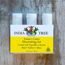 India Tree Natural Color Decorating Set
