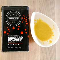 Kozliks Hot Traditional Mustard Powder