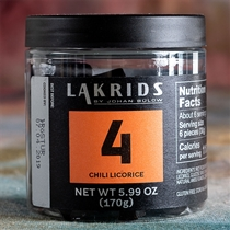 Lakrids 4 Habanero Chilli Licorice