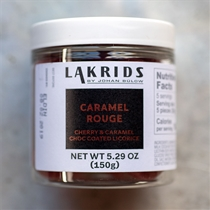 Lakrids Caramel Rouge Cherry and Caramel Covered Licorice