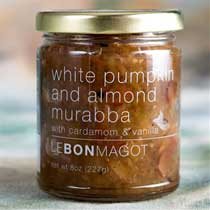 Le Bon Magot White Pumpkin and Almond Murabba