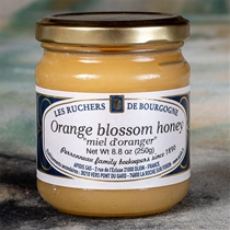 Les Ruchers de Bourgogne Orange Blossom Honey