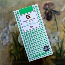 Love Cocoa Gin and Tonic Organic Dark Chocolate Bar