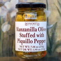 Manzanilla Olives with Piquillo Peppers