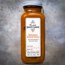 Marshalls Habanero Carrot Curry Haute Sauce