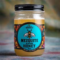 Mexican Mesquite Blossom Raw Honey