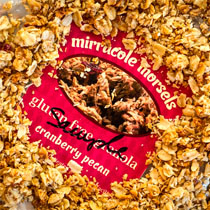Mirracole Morsels Cranberry Pecan Granola - Gluten Free