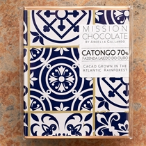 Mission Chocolate Limited Edition Catongo 70-Percent Dark Bar