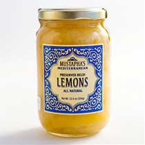 Mustaphas Moroccan Preserved Lemon Confit