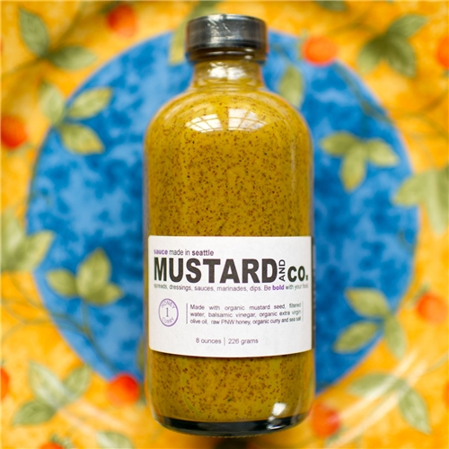 Mustard and Co Honey Curry Mustard Sauce