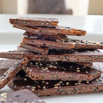 NeoCocoa Black Sesame Seed Toffee Brittle