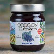 Oregon Growers Blueberry Jam