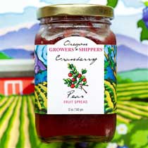 Oregon Growers Cranberry Pear Fruit Spread
