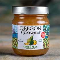 Oregon Growers Lemon Pear Marmalade