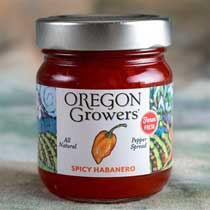 Oregon Growers Spicy Habanero Spread (Jelly)