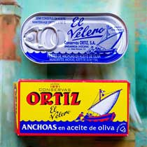 Ortiz Anchovies (in tin)