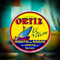 Ortiz Bonito del Norte 8.8 oz tin