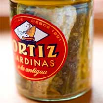 Sardines in Olive Oil - Ortiz