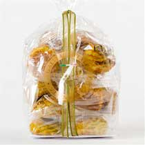 Peluso Sicilian Soft Almond Cookies with Pistachio