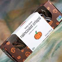 Pumpkin Spice Raincoast Crisps