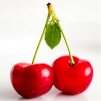 Season of Sweet Red Cherries - 9 pounds total