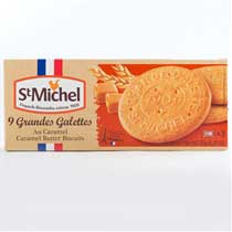 St Michel Caramel Butter Biscuits (Galettes)