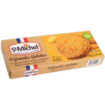 St Michel Butter Biscuits (Galettes) with Sea Salt