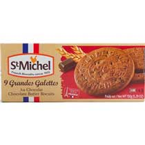 St Michel Chocolate Butter Biscuits (Galettes)