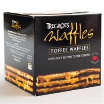 Tregroes Butter Toffee Waffle Cookies