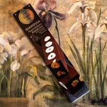 Venchi Dark Gianduia Bar with Hazelnuts - 80gr