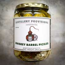 Distillery Provisions Whiskey Barrel Pickles