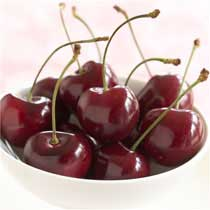 Fresh Bing Cherries - 10 Pound Box