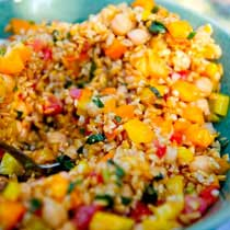Summer Farro Salad Recipe