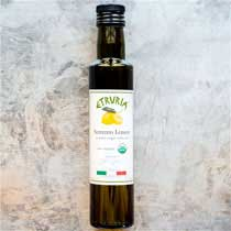 Etruria Sorrento Lemon Olive Oil - Organic