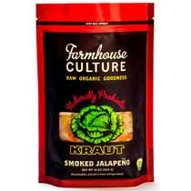 Farmhouse Culture Smoked Jalapeno Kraut