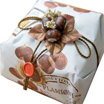 Flamigni Candied Chestnut Panettone - 1kg