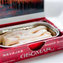 Geomar Razor Shells Clams