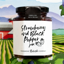 Hawkshead Strawberry and Black Pepper Jam